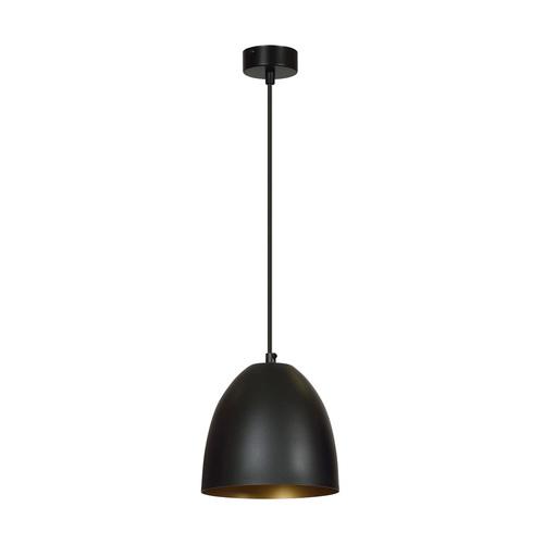 HANGING LAMP LENOX 1 BLACK / GOLD