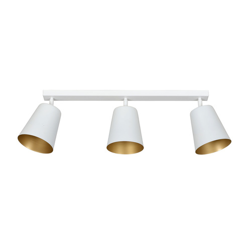 PRISM 3 WHITE / GOLD ceiling