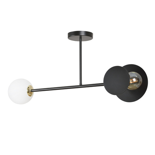 CEILING LAMP MINERVA 2 BLACK