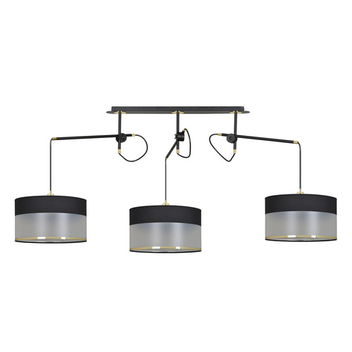 HANGING LAMP MONOLIT 3 BLACK