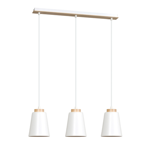 HANGING LAMP BOLERO 3 WHITE