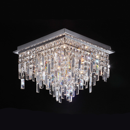 Classic Lavenda G4 13-point Ceiling Lamp with Crystals