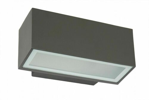 Outdoor facade wall lamp ZEN graphite IP54