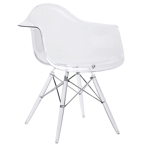 DSP ICE transparent chair - polycarbonate