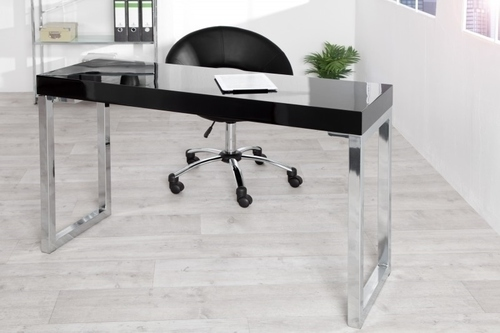 INVICTA desk VERK 120x40 black