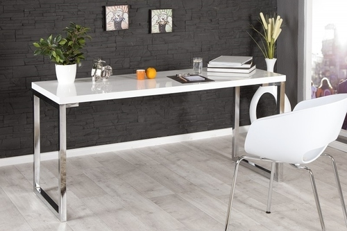 INVICTA desk VERK 160x60 white