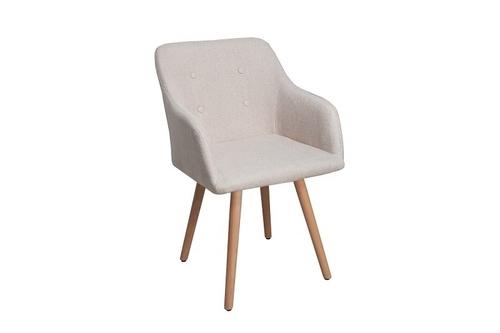 INVICTA SCANDINAVIA beige chair
