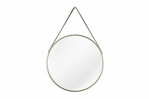 INVICTA PORTRAIT hanging mirror - gold