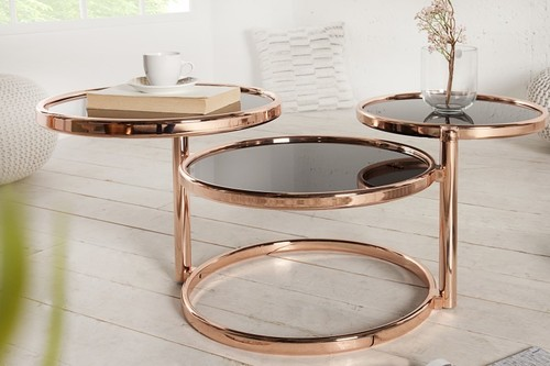 INVICTA folding table DECO copper