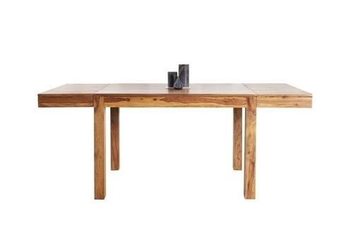 INVICTA extending table LAGOS 120-200 sheesham - natural wood