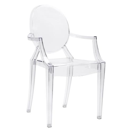 LOUIS transparent chair - polycarbonate