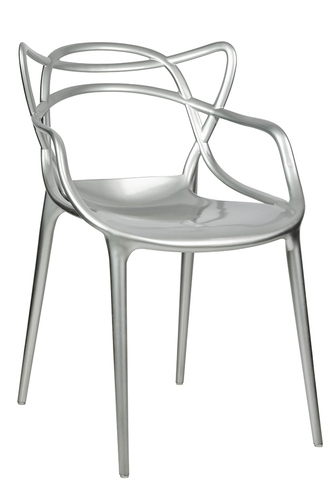 Silver LUXO chair - ABS