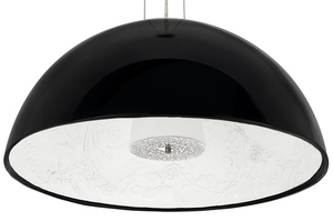 Hanging lamp ELEGANTE 90 black small 0