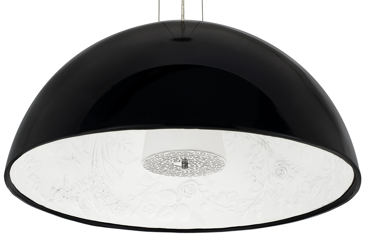 Hanging lamp ELEGANTE 90 black