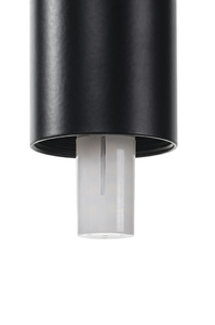 Hanging lamp FLUSSO 4 black small 3