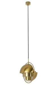 Pendant lamp VARIA gold - carbon steel small 1