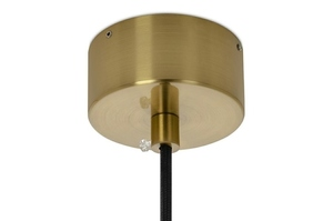 Pendant lamp VARIA gold - carbon steel small 10