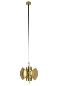 Pendant lamp VARIA gold - carbon steel small 3