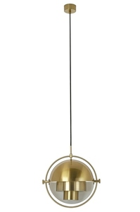 Pendant lamp VARIA gold - carbon steel small 6