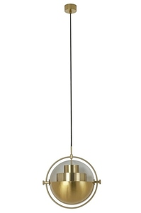 Pendant lamp VARIA gold - carbon steel small 7