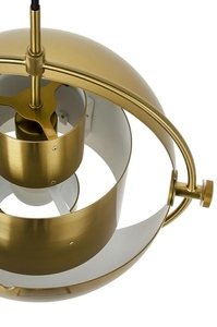 Pendant lamp VARIA gold - carbon steel small 9
