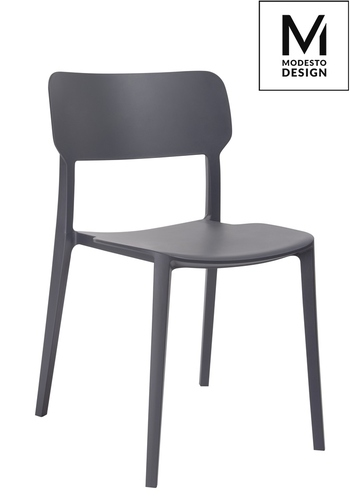 MODESTO chair AGAT gray - polypropylene