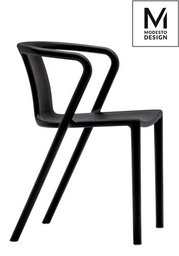 MODESTO chair AIR black - polypropylene
