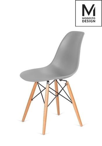 MODESTO gray DSW chair - beech base