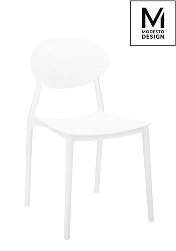 MODESTO chair FLEX white - polypropylene