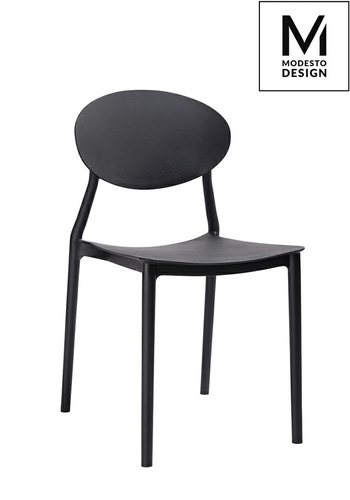 MODESTO chair FLEX black - polypropylene