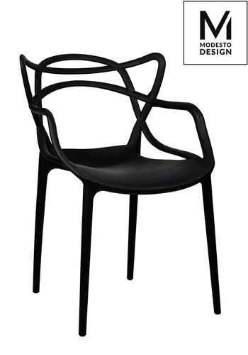 MODESTO chair HILO black - polypropylene