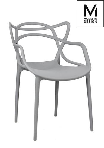 MODESTO chair HILO gray - polypropylene