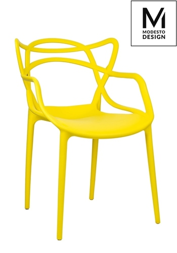 MODESTO chair HILO yellow - polypropylene