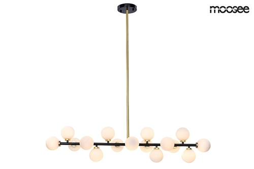 MOOSEE pendant lamp COSMO LEVEL M - black, gold