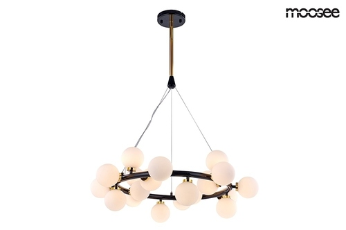 MOOSEE pendant lamp COSMO S - black, gold