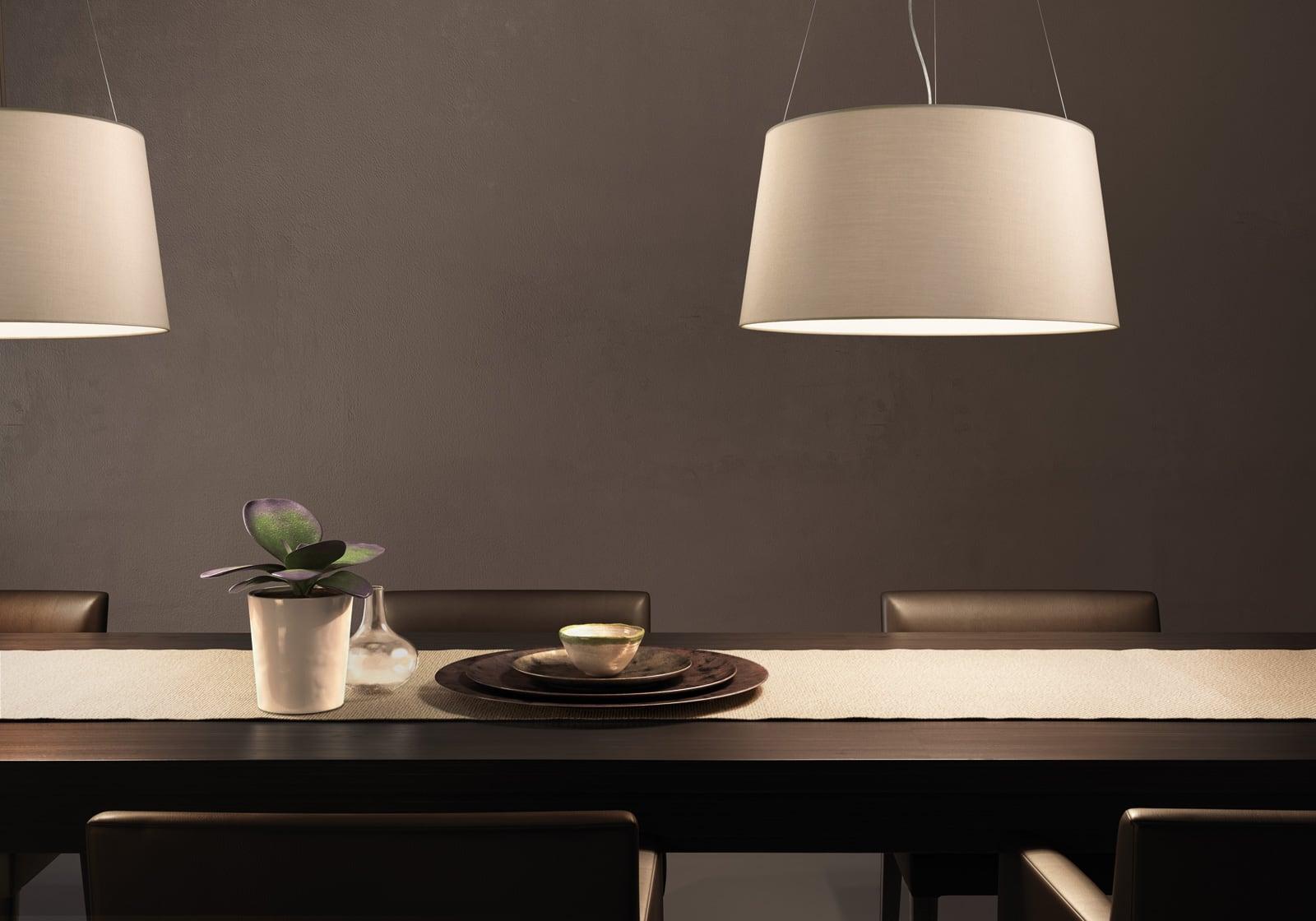 Hanging lamp Kundalini Tripod Ecru 3x100W E27
