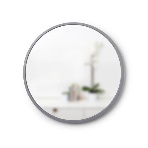 UMBRA hanging mirror HUB 61 gray