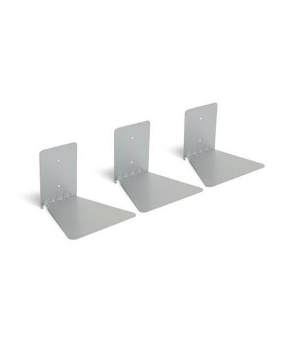 UMBRA shelf CONCEAL 3-PACK -silver large
