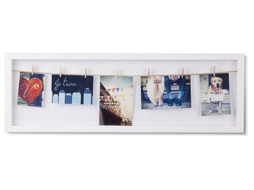 UMBRA photo frame CLOTHESLINE FLIP white