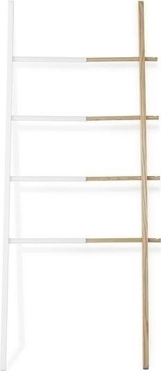 UMBRA HUB ladder hanger white - wood, steel