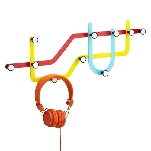 UMBRA clothes hanger SUBWAY - multicolour