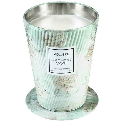 VOLUSPA candle BIRTHDAY CAKE GIANT 737G - coconut wax, two wicks