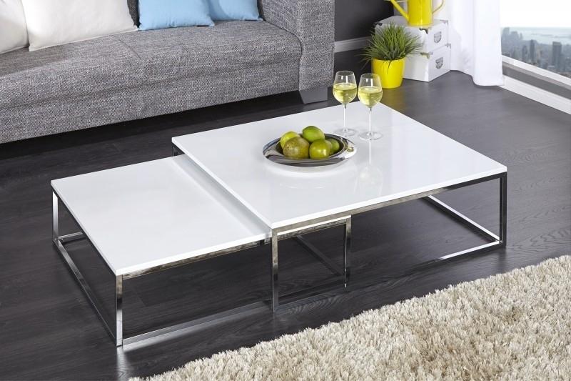 NEW FUSION table set white