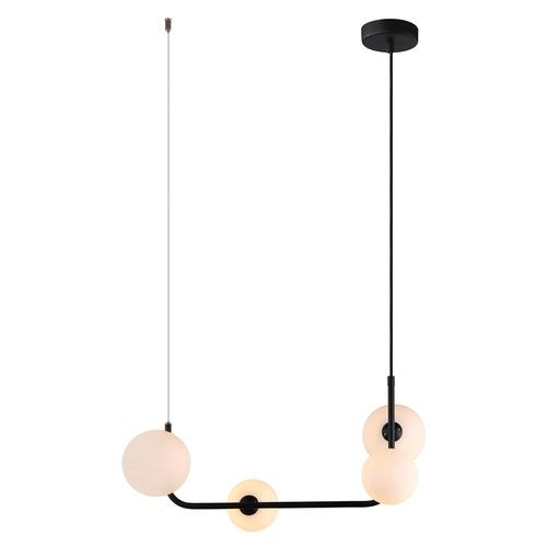 Black Ferrand G9 Pendant Lamp with 4 lamps