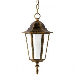 Lampa ogrodowa wisząca POLUX LIGURIA patyna