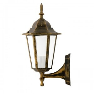 Garden wall lamp POLUX LIGURIA-up, patina small 0