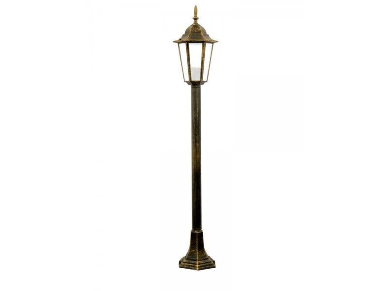 Garden lamp alum POLUX LIGURIA-LT GLA104LTMPT meter patina