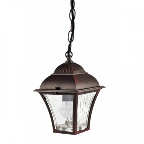 POLUX PARIS 2 2in1 aluminum garden lamp hanging cherry light bulb included