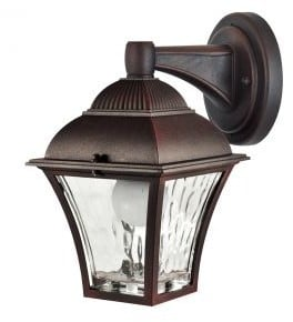 Garden wall lamp POLUX PARIS 2 2in1 cherry led bulb included
