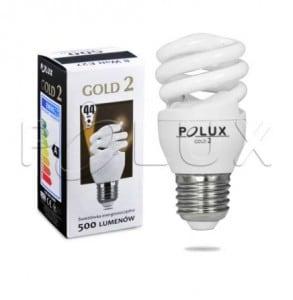 Świetlówka energooszczędna POLUX GOLD2 mini 8W E27